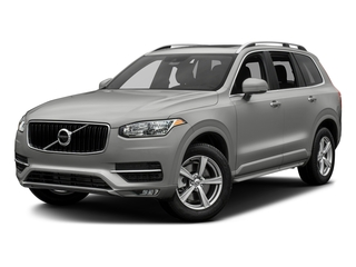 Bright Silver Metallic 2017 Volvo XC90 Pictures XC90 Util 4D T5 Momentum AWD I4 Turbo photos front view