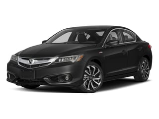 Crystal Black Pearl 2018 Acura ILX Pictures ILX Sedan w/Premium/A-SPEC Pkg photos front view