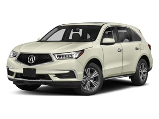 White Diamond Pearl 2018 Acura MDX Pictures MDX Utility 4D 2WD photos front view