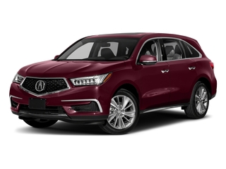 Basque Red Pearl II 2018 Acura MDX Pictures MDX Utility 4D Technology DVD 2WD photos front view