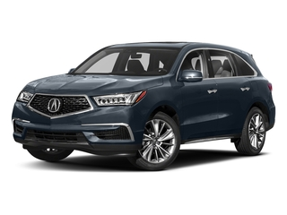 Fathom Blue Pearl 2018 Acura MDX Pictures MDX SH-AWD w/Technology Pkg photos front view