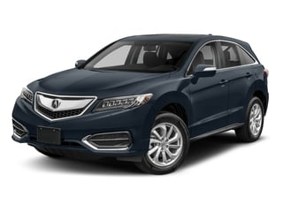 Fathom Blue Pearl 2018 Acura RDX Pictures RDX AWD w/Technology Pkg photos front view