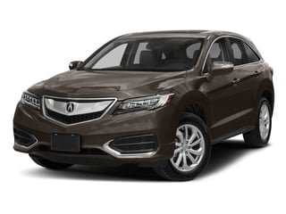 Kona Coffee Metallic 2018 Acura RDX Pictures RDX Utility 4D Technology 2WD V6 photos front view