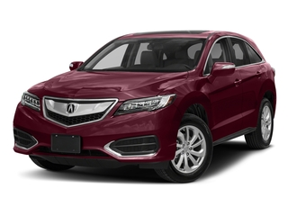 Basque Red Pearl II 2018 Acura RDX Pictures RDX Utility 4D Technology 2WD V6 photos front view