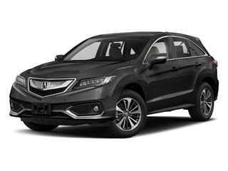 Crystal Black Pearl 2018 Acura RDX Pictures RDX Utility 4D Advance 2WD V6 photos front view