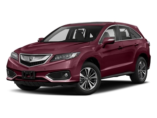Basque Red Pearl II 2018 Acura RDX Pictures RDX Utility 4D Advance 2WD V6 photos front view