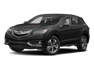 Crystal Black Pearl 2018 Acura RDX Pictures RDX AWD w/Advance Pkg photos front view