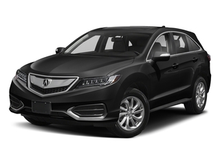Crystal Black Pearl 2018 Acura RDX Pictures RDX AWD w/AcuraWatch Plus photos front view