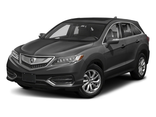 Modern Steel Metallic 2018 Acura RDX Pictures RDX FWD w/AcuraWatch Plus photos front view