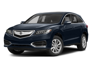 Fathom Blue Pearl 2018 Acura RDX Pictures RDX AWD w/Technology/AcuraWatch Plus Pkg photos front view