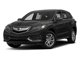 Crystal Black Pearl 2018 Acura RDX Pictures RDX Utility 4D AWD V6 photos front view