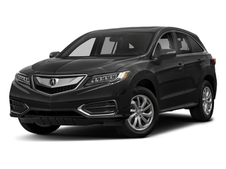 Crystal Black Pearl 2018 Acura RDX Pictures RDX AWD photos front view