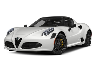 White 2018 Alfa Romeo 4C Coupe Pictures 4C Coupe photos front view