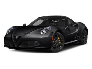 Black 2018 Alfa Romeo 4C Coupe Pictures 4C Coupe photos front view