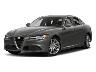 Vesuvio Gray Metallic 2018 Alfa Romeo Giulia Pictures Giulia Ti AWD photos front view