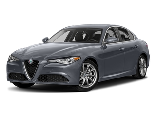 Stromboli Gray Metallic 2018 Alfa Romeo Giulia Pictures Giulia Ti AWD photos front view