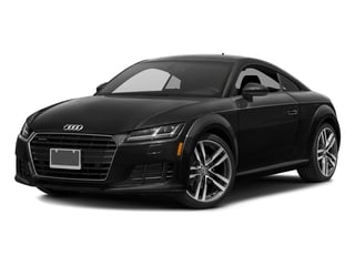 Brilliant Black 2018 Audi TT Coupe Pictures TT Coupe 2.0 TFSI photos front view