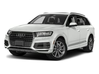 Carrara White 2018 Audi Q7 Pictures Q7 2.0 TFSI Premium photos front view