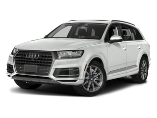 Carrara White 2018 Audi Q7 Pictures Q7 3.0 TFSI Prestige photos front view