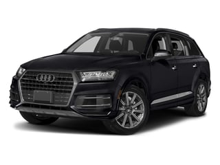 Orca Black Metallic 2018 Audi Q7 Pictures Q7 3.0 TFSI Prestige photos front view