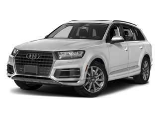 Glacier White Metallic 2018 Audi Q7 Pictures Q7 3.0 TFSI Prestige photos front view