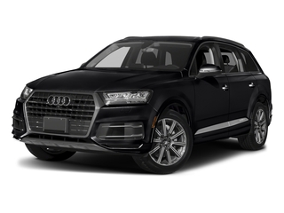 Night Black 2018 Audi Q7 Pictures Q7 2.0 TFSI Premium photos front view
