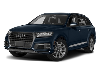 Ink Blue Metallic 2018 Audi Q7 Pictures Q7 2.0 TFSI Premium photos front view