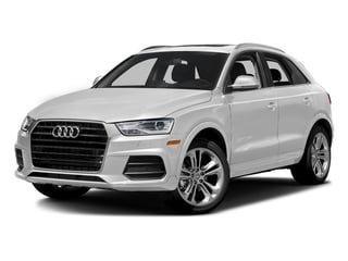 Glacier White Metallic 2018 Audi Q3 Pictures Q3 2.0 TFSI Sport Premium Plus FWD photos front view