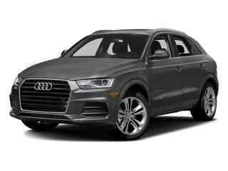 Daytona Gray Pearl Effect 2018 Audi Q3 Pictures Q3 2.0 TFSI Sport Premium Plus FWD photos front view