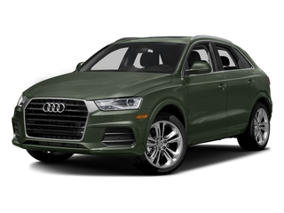 Camouflage Green Metallic 2018 Audi Q3 Pictures Q3 2.0 TFSI Sport Premium Plus FWD photos front view