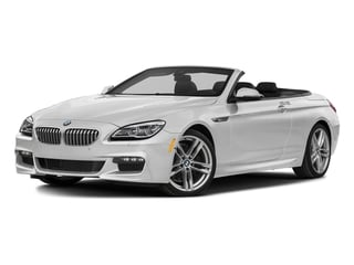 Mineral White Metallic 2018 BMW 6 Series Pictures 6 Series 650i xDrive Convertible photos front view