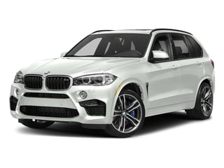 Alpine White 2018 BMW X5 M Pictures X5 M Utility 4D M AWD photos front view