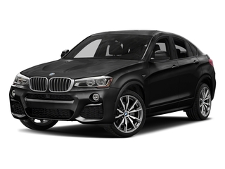 Black Sapphire Metallic 2018 BMW X4 Pictures X4 M40i Sports Activity Coupe photos front view