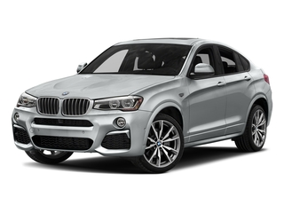 Glacier Silver Metallic 2018 BMW X4 Pictures X4 M40i Sports Activity Coupe photos front view