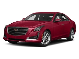 Red Obsession Tintcoat 2018 Cadillac CTS Sedan Pictures CTS Sedan 4D Luxury AWD V6 photos front view