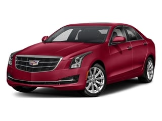 Red Obsession Tintcoat 2018 Cadillac ATS Sedan Pictures ATS Sedan 4D Premium Luxury AWD V6 photos front view