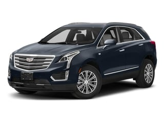 Harbor Blue Metallic 2018 Cadillac XT5 Pictures XT5 Utility 4D Luxury AWD V6 photos front view