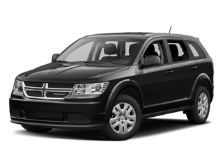 Pitch Black Clearcoat 2018 Dodge Journey Pictures Journey SE AWD photos front view