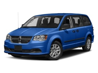 Indigo Blue Clearcoat 2018 Dodge Grand Caravan Pictures Grand Caravan SE Plus Wagon photos front view