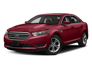 Ruby Red Metallic Tinted Clearcoat 2018 Ford Taurus Pictures Taurus Sedan 4D SEL AWD V6 photos front view