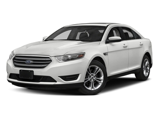 Oxford White 2018 Ford Taurus Pictures Taurus Sedan 4D SEL AWD V6 photos front view