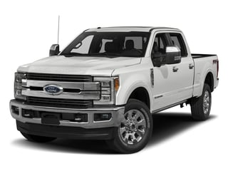 Oxford White 2018 Ford Super Duty F-250 SRW Pictures Super Duty F-250 SRW Crew Cab King Ranch 4WD photos front view