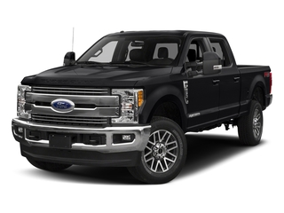 Shadow Black 2018 Ford Super Duty F-350 SRW Pictures Super Duty F-350 SRW LARIAT 4WD Crew Cab 8' Box photos front view