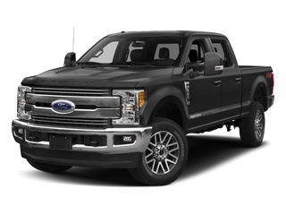Magnetic Metallic 2018 Ford Super Duty F-350 SRW Pictures Super Duty F-350 SRW LARIAT 4WD Crew Cab 8' Box photos front view