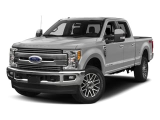 Ingot Silver Metallic 2018 Ford Super Duty F-350 SRW Pictures Super Duty F-350 SRW LARIAT 4WD Crew Cab 8' Box photos front view