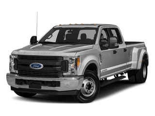 Ingot Silver Metallic 2018 Ford Super Duty F-350 DRW Pictures Super Duty F-350 DRW Crew Cab XL 2WD photos front view