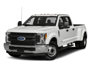 Oxford White 2018 Ford Super Duty F-350 DRW Pictures Super Duty F-350 DRW Crew Cab XL 2WD photos front view