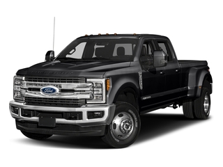 Shadow Black 2018 Ford Super Duty F-350 DRW Pictures Super Duty F-350 DRW Crew Cab King Ranch 2WD photos front view