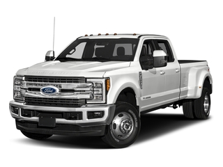 Oxford White 2018 Ford Super Duty F-350 DRW Pictures Super Duty F-350 DRW Crew Cab King Ranch 2WD photos front view