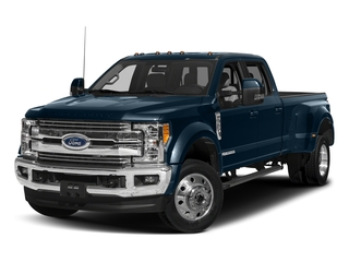 Blue Jeans Metallic 2018 Ford Super Duty F-450 DRW Pictures Super Duty F-450 DRW Crew Cab XLT 4WD T-Diesel photos front view